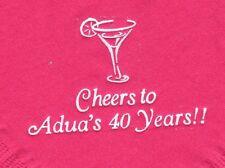 MARTINI GLASS LOGO 50 Personalized printed cocktail beverage napkins