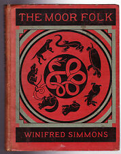Winifred Simmons / Winifred Langlands - The Moor Folk - 1st 1926 - Faber & Gwyer