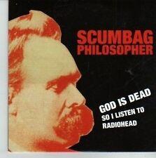 (CV599) Scumbag Philosopher, God Is Dead So I Listen To Radiohead - 2011 DJ CD