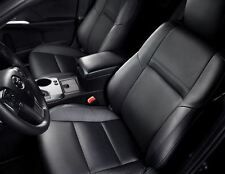 2012  - 2013 Toyota Camry SE leather Interior Seat Covers - Black