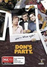 DON'S PARTY Graham Kennedy DVD All Zone - PAL
