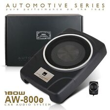 Brand New MBQ AW-800E 8inch Active Under Seat Car Subwoofer woofer slim