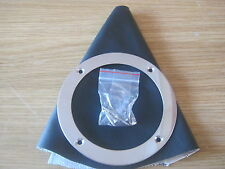 BLACK VINYL GEARSTICK GAITER AND RING UNIVERSAL FIT KIT CAR ETC *NEW*