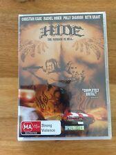 Hide DVD Staring Christian Kane and Rachel Miner