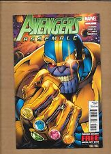 AVENGERS ASSEMBLE #7 GREAT THANOS COVER MARVEL