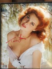 TINA LOUISE SIGNED BUSTY YOUNG SEXY 8x10 PHOTO 3 C0A'S REGISTERED AFTAL DEALER