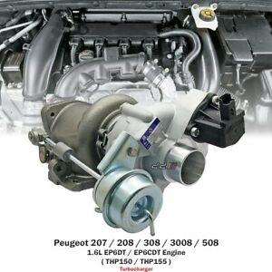 Turbo Turbocharger For Peugeot 207 208 308 3008 RCZ 1.6L