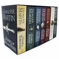 A Game of Thrones Box Set George R. R. Martin 7 Books Set A Song Of Ice and Fire