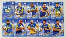 NRL 2018 Trading Cards Parramatta Eels full set of 10