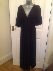 black wide leg Next maternity jumpsuit short sleeve size 22