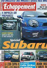 Echappement   N°419   juil 2002 : Spécial Subaru