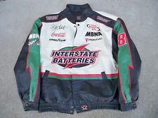 JH Designs Interstate Batteries Bobby Labonte Racing Race Car Leather Coat XXL