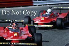 Scheckter & Villeneuve Ferrari 312 T5 Dutch Grand Prix 1980 Photograph