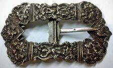 Judaica Dutch Silver belt buckle for yom Kippur