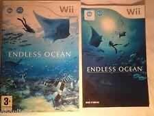 WII WII U ENDLESS OCEAN NINTENDO WII ENDLESS OCEAN WII