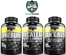 Primaforce Fat Attack Stack | Lean Green +Alcalean +Syneburn | Weight Loss |