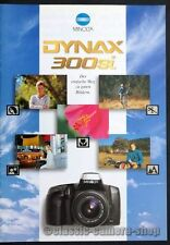 Minolta Prospekt MINOLTA DYNAX 300si & Objektive Kamera Broschüre (X2594