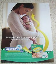 2010 ad page - Pampers Swaddlers Newborn Baby Diapers Mother diaper PRINT ADVERT