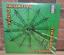 TYPE O NEGATIVE - The Least Worst Of Type O Negative Ltd 180G 2LP VINYL Gatefold