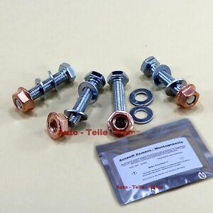 4 x Montage Schrauben M 8 / 40 mm und 4x Kupfermuttern für Abgasanlage + Zement