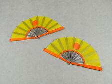 1/6 Scale Phicen, Cy Girl, Hot Toys, Kumik, ZC, TTL - 2x Ninja Blade Fan Set