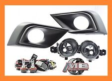 For 2015 2016 Nissan Murano Fog Lights Clear Lens Complete Switch Wiring Kit