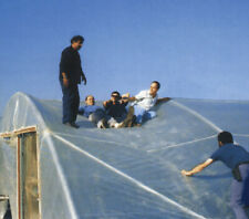 12 Mil CLEAR REINFORCED Plastic Greenhouse Film MEGA TOUGH