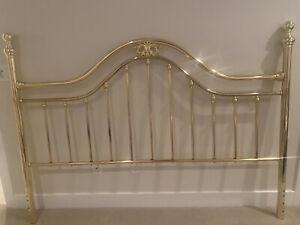 vintage king size Brass Headboard