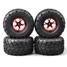 4Pcs 1:10 Bigfoot Monster Truck Tire&Wheel Rim 12mm Hex for Traxxas RC Model Car