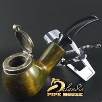 "Outstanding Mr.Balandis original Hand made smoking pipe ""KAISER 25"" smooth Grann"