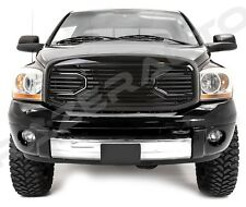06-08 Dodge Ram 1500+06-09 Ram 2500+3500 Big Horn Black Packaged Grille+Shell