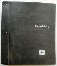 John Deere 1010 And 2010 Crawlers Parts Catalog Manual Pc 727728 In Binder