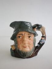 "Royal Doulton Character Jug ""Rip Van Winkle"" 4"" x 4 1/4"" Vintage D 6463 England"