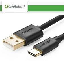 Ugreen Gold Reversible USB 2.0 Type-c Male to Type a Female Charging Data Cable! 2m