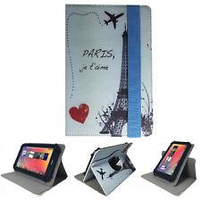 "Bolso tablet para Acer Iconia one 10 b3 a32 funda estuche, Torre Eiffel Paris 10.1"" 360"