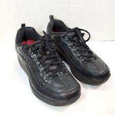 Skechers Shape Ups Work Womens Size 7.5 Black Slip Resistant Shoes