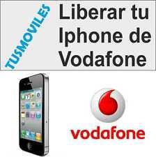 Liberar Iphone Vodafone 6 6 Plus 5S 5C 5 4 4S 3GS 3 todos modelos sat LIBERA