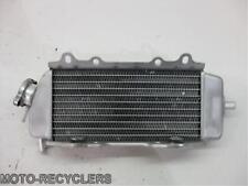 04 KX250F RMZ250 Left radiator with cap   Q