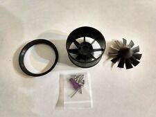 (UPTO 950G MAX THRUST) POWERFUN 50MM 11 BLADE DUCTED FAN (3.0) W/O MOTOR
