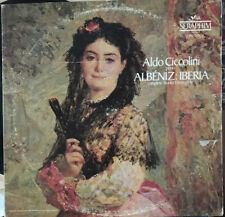 "ALDO CICCOLINI / ALBENIZ IBERIA Vinyl DOUBLE 12"" LP Record SIB-6091 VG+"