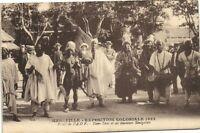 Marseille CPA exposition Coloniale 1922-Palais de l'A.O.F.-Tam-Tam ... (174371)