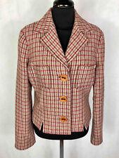 MAX   CO. Giacca Giubbotto Donna Lana Scozzese Woman Wool Jacket Sz.M - 53e8dc0ec10