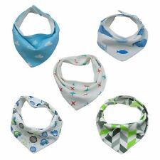 TALINU fünf 5 Babylätzchen Baby Dreieckstuch Halstuch Spucktuch Latz Lätzchen