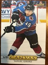 19-20 UD Series Hockey Canvas C61 Samuel Girard