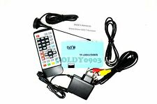Digital TV Box LCD/CRT VGA/AV Tuner DVB-T Free View Receiver Converter W/EU Plug