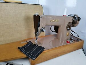 Semi-Industrial Singer 201K Sewing Machine, SERVICED, ELECT PAT TEST,sew LEATHER