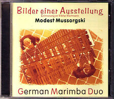 Moussorgsky pictures at at Exhibition Marimba Duo CD 99 Pictures at an Exhibition