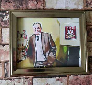 Liverpool Fc Bob Paisley Pop Art Tribute Football Picture