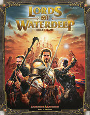 Dungeons & Dragons, D&D, Lords of Waterdeep, Boardgame, New by Wizards, English