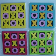Noughts & Crosses game, Foam X's, O's and board, Tic Tac Toe, ideal party bag,